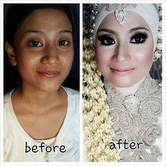 My MakeUp For Wedding#Wedding Muslim#Hijab styling#Just info VIA BBM : 56CE94AF# WA : 085718213642