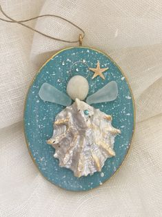 A personal favorite from my Etsy shop https://www.etsy.com/listing/574450593/beachcomber-ornament-large