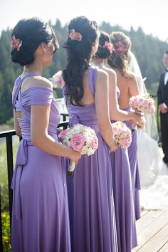 Lavender,Pink,White