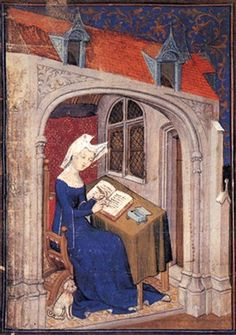 0082, Christine de Pizan. 15th c. French. Medieval Women Image Database.