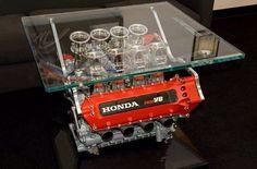 ¿Te gustan los motores? ¿te gusta la decoración? Pues no te pierdas estas ideas