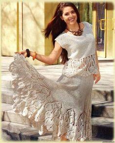 Kit compuesto por blusas y faldas en compose incluye varios modelos con moldes