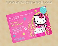 Maddy's Party invite
