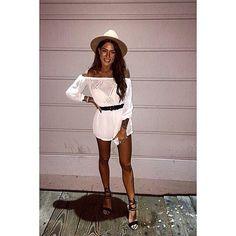 Wearing A Hat, Hats, Sweaters, How To Wear, Instagram, Dresses, Fashion, Vestidos, Moda