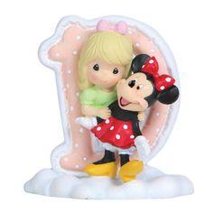Precious Moments Disney Alphabet D Figurine, 2-3/4-Inch - 23/4Inch, Alphabet, Disney, Figurine, Moments, Precious