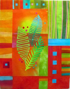 Fern Trio by Melody Johnson Quilts