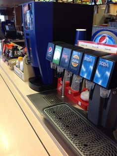 Virvoitusjuomat, kahvit, kaakaot; kaikki samasta linjastosta!