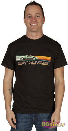 Men s Spy Hunter t-shirt Hunter Logo eb269e071