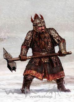 Rurik Ulgar of Balderk Clan the Battle Master