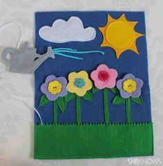 Flowers page idea
