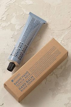 Version Originale hand balm by Compagnie de Provence available from @anthropologie.