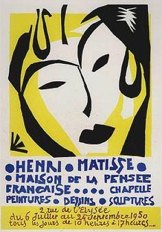 Henri Matisse- Maison de la Pensee Francaise