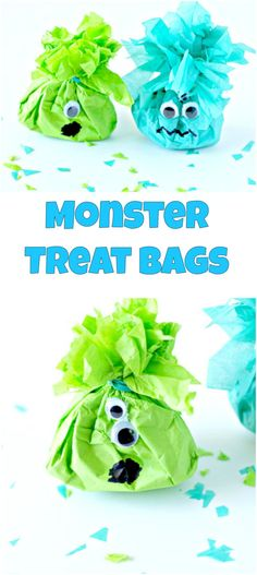 Monster Treat Bags -