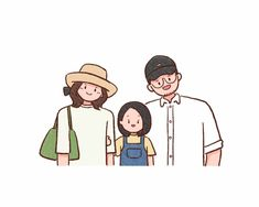 Excited to share this item from my shop: Custom family portrait/ Family portrait/ Anniversary gifts/ Family members portrait/ Doodle/ Family Illustration Family Illustration, Tree Illustration, Portrait Illustration, Doodle Drawings, Cute Drawings, Couple Cartoon, Cartoon Family, Family Drawing, Cute Art Styles