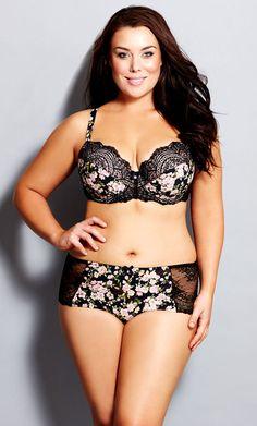 42742bb988 City Chic - GEISHA SHORTY - Women s Plus Size Fashion Zwemkleding In Grote  Maten