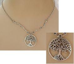 Silver Celtic Tree of Life Pendant & Branches Necklace Jewelry Handmade NEW  #handmade http://www.ebay.com/itm/161955749295?ssPageName=STRK:MESELX:IT&_trksid=p3984.m1555.l2649