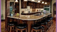 Rustic Kitchen Ideas - Rustic kitchen closet is an attractive mix of country home as well as farmhouse decoration. Browse 30 ideas of rustic kitchen design below Rustic Kitchen Cabinets, Rustic Kitchen Design, Home Decor Kitchen, New Kitchen, Home Kitchens, Kitchen Ideas, Country Kitchen, Kitchen Bars, Rustic Kitchens