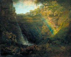 Black Gang Chine, Isle of Wight De Wint, Peter, born 1784 - died 1849 Landscape Art, Landscape Paintings, Romantic Paintings, Art Uk, Isle Of Wight, Romanticism, Cool Landscapes, Your Paintings, Explore