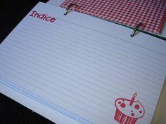 Mania de Artesanato: Lembrancinha de casamento + Caderno de receitas!!