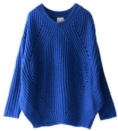 Royal blue / ShopStyle: URBAN RESEARCH SILVERRLIGH 片畦ウツシ柄プルオーバー
