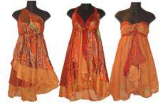Magic Skirt Reversible Wrap Dress Kariza (multivestido)