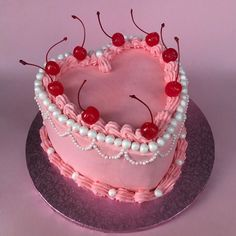 Cute Cakes, Pretty Cakes, Sweet Cakes, Pearl Cake, Cute Desserts, Dream Cake, Aesthetic Food, Cute Food, Celebration Cakes