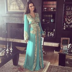 Tiffany Blue Kaftan