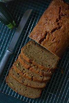 A buttery and delicious variation of traditional zucchini bread along with helpful tips on how to prepare and store any kind of zucchini bread! Zucchini Bread Recipe Butter, Zucchini Cupcakes, Helpful Tips, Brown Sugar, Banana Bread, Breads, Deserts, Appetizers, Sweets