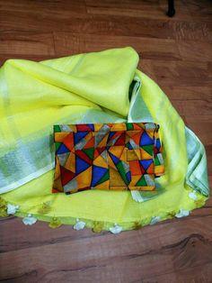 Discover thousands of images about Priyansu Biruly Cotton Saree Designs, Sari Blouse Designs, Fancy Blouse Designs, Saree Blouse Patterns, Designer Blouse Patterns, Modern Saree, Plain Saree, Simple Sarees, Stylish Sarees