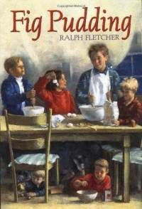 Fig Pudding (1995) by Ralph Fletcher - this book can have you rolling in laughter, or blubbering in tears. Love sharing it with kids so they can see there are stories in their everyday living.