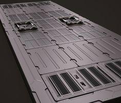 Sci fi panels kitbash model - TurboSquid 1234577