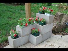 Budget & Small Space Friendly: DIY Cinderblock Planters