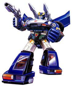 Botch's Transformers Box Art Archive - 1984Autobots - Bluestreak