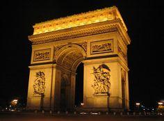 Best Love Quotes — Via 12 Places to Visit in Paris - Arc de Triomphe