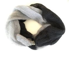 Unique and authentic hand made from high quality kid-mohair , silk and silver lurex blend. Mohair Silk Lurex This double layered, Fall Scarves, Winter Accessories, Knitting Ideas, Shawl, Fall Winter, Kid, Trending Outfits, Unique Jewelry, Metal