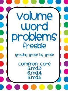fifth grade math word problems
