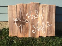 O Holy Night Plaque by CarlsonWoodworkers on Etsy https://www.etsy.com/listing/255241383/o-holy-night-plaque