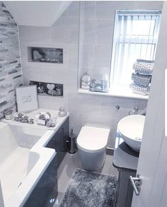 I haven't took a picture of the whole of our bathroom since October! Half the bath panel is still off! This photo is from September… Bath Panel, Bathroom, Pictures, Home, Decor, September, Instagram, Ideas, Washroom