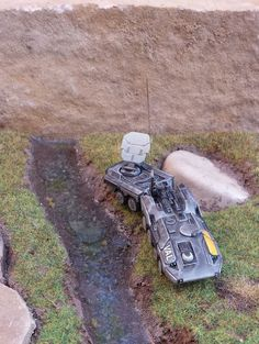 Converted Kodiak by Bistromatic Sci Fi Miniatures, Painting Competition, Drop Zone, Tabletop Games, Colour Schemes, Armed Forces, Scenery, War, Minis