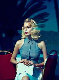 Saturated 50s Photoshoots - The Elegance Netherlands May 2012 Editorial Stars Sasha Melnychuk (GALLERY)