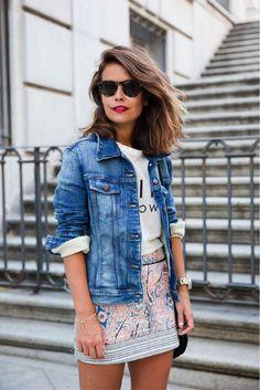 La veste en jeans - La pièce multifonction par excellence | Mlle Frivole