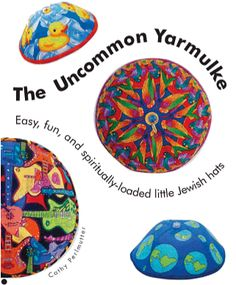 SUPER cool yarmulkas for bar or bat mitzvah