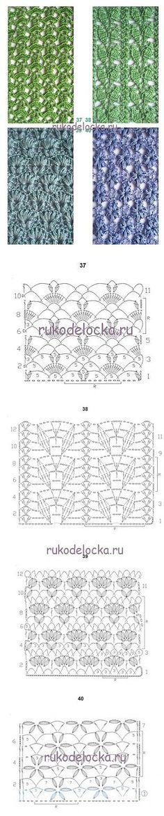 Rukodelochka | Kalıpları 3 Crochet