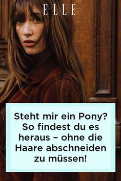 Wer alle Jahre wieder mit einem Pony liebäugelt, den schon Ikonen wie Jane Birkin und Brigitte Bardot trugen, muss nicht sofort die Haare abschneiden. Mehr zu Clip-in Ponys auf ELLE.de! #beauty #haut #hautpflege #skincare