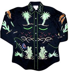 Buy Rockmount Mens Porter Wagoner Vintage Country Western Shirt -  Topvintagestyle.com ✓ FREE DELIVERY 7afdcc6afab6