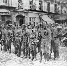 Russians fought in France almost from the beginning of war.