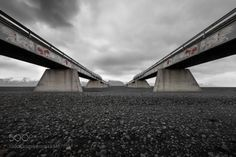 ISAI / Perspe by guworld  sky mountains street bridge iceland perspe ISAI / Perspe guworld