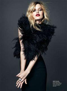 Naomi Smith Styles Georgia Jagger for Vogue Australia
