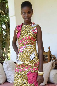 Paulina Dress     #kitenge #africa #dress #africanfashion #fashion #nairobi #africandress #kenya