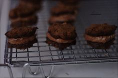 Chocolate Stuffed Chocolate Cookies, gluten free, flour free, low in sugar. Totally yummy!